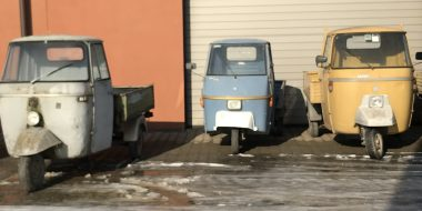 Fresh delivery of Piaggio Ape