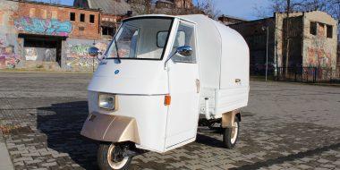 Realizacja Piaggio Ape 50