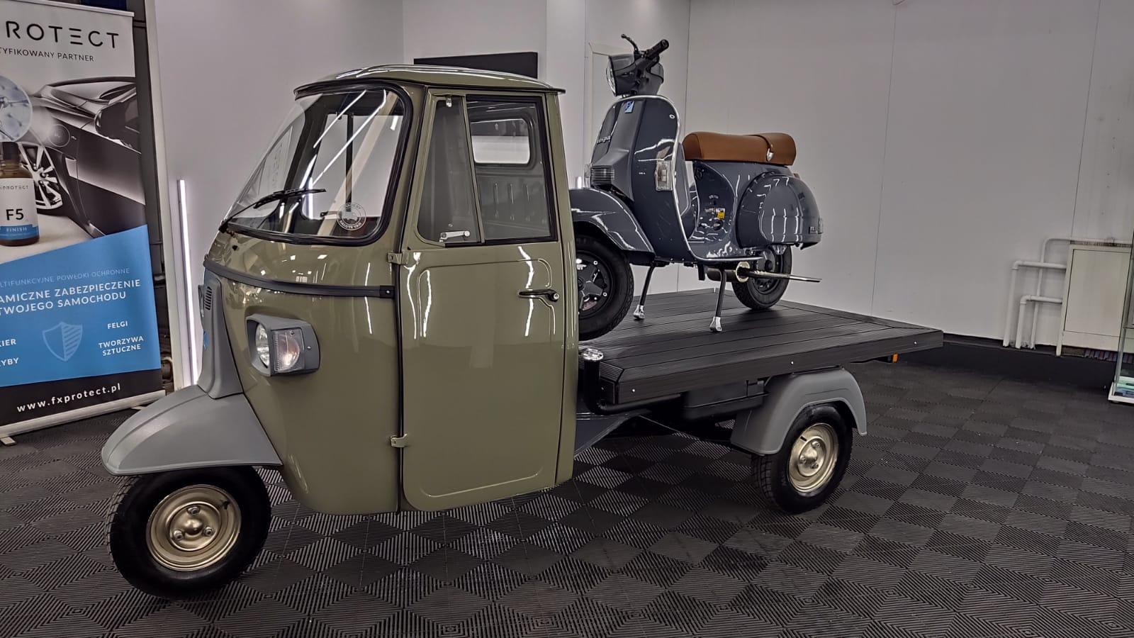 Piaggio Ape 600 MP renowacja